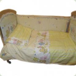 Захист на ліжко Ассоль Гаммі Кремовий