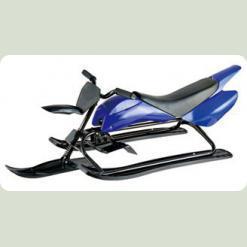 Зимові дитячі санки-мотоцикл