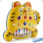 """Електронна розвиваюча гра Піаніно """"Тигреня"""""""