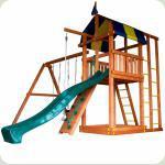 Дитячий будиночок з гіркою для дачі Бебіленд-6