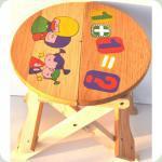 Дерев'яний стільчик B1702