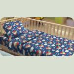 Дитяча постільна білизна для немовлят Lotus фланель - BoBo