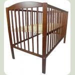 Дитяче ліжко Klups Radek II без ящика Горіх
