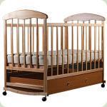Дитяче ліжко Наталка з ящиком Вільха Світла