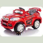 Дитячий Електромобіль Festa Джип BMW серії X червоний на радіокеруванні