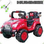 Дитячий Електромобіль Hummer, червоний
