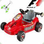 Дитячий Електромобіль Картинг Формула-1, червоний