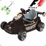 Дитячий Електромобіль Картинг Формула-1, чорний