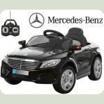 Дитячий електромобіль Mercedes AMG M 3269 чорний