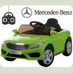 Дитячий електромобіль Mercedes AMG M 3269 салатовий