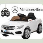 Дитячий електромобіль Mercedes M 2772 білий