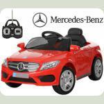 Дитячий електромобіль Mercedes M 2772 червоний