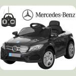 Дитячий електромобіль Mercedes M 2772 чорний