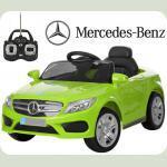 Дитячий електромобіль Mercedes M 2772 салатовий