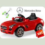 Дитячий електромобіль Mercedes SLS AMG