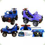 Дитячий електромобіль Power FB 958 + пульт дистанційного керування. синій