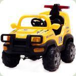 Дитячий електромобіль Power FB 958 + пульт дистанційного керування. жовтий