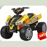 "Дитячий квадроцикл ""EVА Колеса"" M 2394E жовтий"