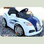 Електромобіль Cabrio BU синій