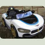 Електромобіль Cabrio Ma білий