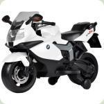 Електромобіль-мотоцикл Bambi BMW 1300s Білий (Z 283-1-2)