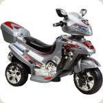 Електромобіль-мотоцикл Bambi F928 Сірий (M0564/F928-2)