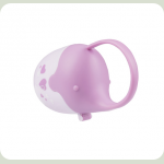 Футляр для пустушки BabyOno Слоник (529) Рожевий