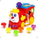 Іграшка-сортер Huile Toys (HOLA) Паровозик (556)