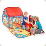 """Ігрова палатка Pop-it-Up """"Ресторан-Магазин"""" із ігровим килимком"""