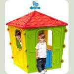 Ігровий будиночок Starplast Червоно-жовто-зелений (56-560)