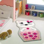 Килим в дитячу кімнату Confetti - Kitty рожевий 80*150