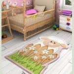 Килим в дитячу кімнату Confetti - Little Sheep рожевий 80*150