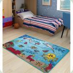 Килим в дитячу кімнату Confetti - Underwater аква 100*150