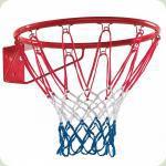 Кільце баскетбольне 45 см з сіткою