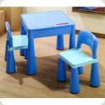 Комплект Tega MAMUT стіл + 2 стільці MT-001 899 blue / light blue