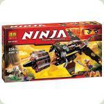 Конструктор Bela Ninjago Скорострільний винищувач Коула (10322)