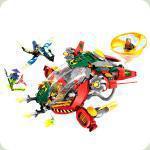 Конструктор Lele Ninja Штурмовой літак (79122)