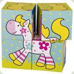 Кубики дерев'яні goki Мої друзі Susibelle 57511