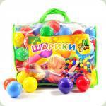 Кульки 01159 для сухих басейнів, 80 мм 100 шт в сумці