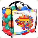 Кульки для сухого басейну Intex Fun Ballz 80 мм 100 шт ( 49600 )