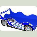 """Ліжечко-машина """"Поліція-2"""", синя"""
