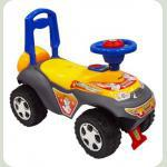 Машинка-каталка Alexis-Babymix 7600 (yellow)