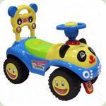 Машинка-каталка Alexis-Babymix 7601 (blue)
