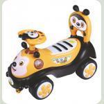 Машинка-каталка Alexis-Babymix 7625 (yellow)