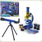 Мікроскоп + телескоп CQ-031 з лінзами і телескопом