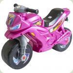 Мотоцикл 2-х колісний 501-1PN (Рожевий Перламутр)
