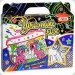 Набір для творчості Strateg Пенал Your mini purse Поні (2034)