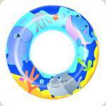 Надувний круг Bestway Морські пригоди Blue (36113)