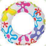 Надувний круг Intex Кольоровий (59241)