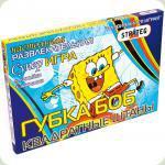 Настільна гра Strateg Бродилки Губка Боб квадратні штани (201)